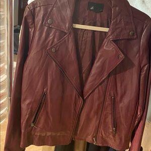 "Leather jacket ""faux"""